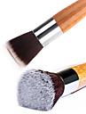 1pcs doux bambou poignee a ongles plats manucure manucure pedicure nettoyage eliminez l\'outil brosse a poussiere