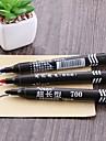 3pcs stor kapacitet oljhuvud mark penna kartong skriva anteckningar penna för skolan&Kontorsmaterial 3color