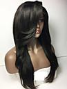 Cheveux humains Dentelle frontale Perruque Droit 150% Densite Ligne de Cheveux Naturelle Court Moyen Long Femme Perruque Naturelle