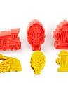 3 Instrumente cookie Floare Tort Plastice Copii Reparații
