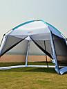 7 Personen Kuppelzelt mit Netz Firstzelt mit Netz Aussen Regendicht UV-resistant Staubdicht Eine Schicht Camping Zelt 1000-1500 mm fuer Camping & Wandern Terylen Oxford Gewebe Maschen