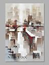 Pictat manual Peisaj Vertical,Artistic Un Panou Canava Hang-pictate pictură în ulei For Pagina de decorare