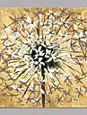 Pictat manual Floral/Botanic Orizontal,Artistic Un Panou Canava Hang-pictate pictură în ulei For Pagina de decorare