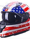 Full Face Potrivire Formă Compact Respirabil Cea mai buna calitate jumătății Sporturi ABS Casca motocicleta