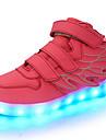 Κοριτσίστικα Παπούτσια Δερματίνη Φθινόπωρο / Χειμώνας Ανατομικό / Φωτιζόμενα παπούτσια Αθλητικά Παπούτσια Περπάτημα LED για Πράσινο / Μπλε / Ροζ