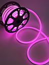 2m Fâșii De Becuri LEd Flexibile 240 LED-uri 2835 SMD Alb Cald / Alb / Roșu Ce poate fi Tăiat / Rezistent la apă / De Legat 220 V / IP68