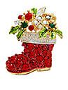 Pentru femei Fete Broșe Zirconiu Cubic Bohemia Stil Placat Auriu Bijuterii Pentru Nuntă Petrecere Ceremonie Crăciun