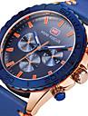 Bărbați Ceas La Modă Ceas de Mână Unic Creative ceas Ceas Casual Ceas Sport Ceas Militar  Quartz Piele Autentică Bandă Charm Lux Creative
