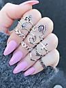 Žene Prsten - Legura Leaf Shape, Cvijet dame, Jedinstven dizajn Jewelry Pink Za Dar Dnevno Prilagodljive