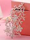 flori din aliaj de flori păr clip de păr gheare căști stil elegant