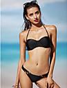 Femei Bikini Femei Cu Susținere Solid Push-up Polyester