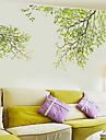 Floral/Botanic Perete Postituri Autocolante perete plane Autocolante de Perete Decorative, Plastic Pagina de decorare de perete Decal