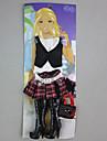 Pentru Barbie Doll Fuste Topuri Cizme Pentru Fata lui păpușă de jucărie