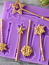 1 Materiale pentru torturi Ciocolatiu Pentru ustensile de gătit pentru ciocolată tort pentru Cookie BiscuițiCauciuc siliconat Silicon