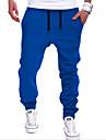 Bărbați Harem Șic Stradă Talie Medie,Micro-elastic Pantaloni Sport Pantaloni Mată