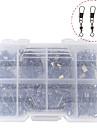 דיג סנאפס & מסתובב אביזרי דייג 140 pcs Fishing קל לשימוש מתכת אל חלד דיג בים דיג בחכה הטלת פיתיון / דיג קרח / Spinning / דיג ג\'יג / דייג במים מתוקים / דיג קרפיון