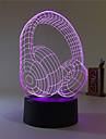 1set Decorativ Schimbare - Culoare Decorațiuni Luminoase LED-uri de lumină de noapte Lumini USB-3W-Baterie USB
