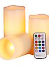 1set Schimbare - Culoare Decorativ LED-uri de lumină de noapte-1W-Baterie
