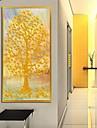 Botanic Împrimat De Artă Înrămată cadru Art Wall Art,Aliaj Material cu Frame For Pagina de decorare cadru Art Sufragerie 1 Bucată