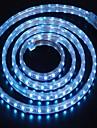 2m 220v higt luminos a condus benzi de lumină flexibile 5050 120smd trei cristal lumini de gradina lumina bar rezistent la apă, cu priza