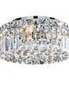 QINGMING® 6-Light Montaj Flush Lumină Spot - Cristal, Stil Minimalist, designeri, 110-120V / 220-240V Becul nu este inclus / 10-15㎡