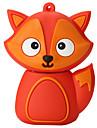 desen animat silicon fox de mare viteză shockproof 32GB usb 2.0 flash drive u disc de memorie disc