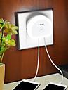 BRELONG® 1 piesă LED-uri de lumină de noapte Încărcătoare Alb Controlul luminii Wireless Ușor de Purtat