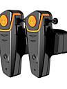 bt-s2-2 1 pereche motocicletă bluetooth căști, motocicleta casca interfon interfon mp3 player / walkie-talkie