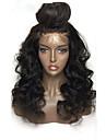 Ljudska kosa Lace Front Perika Stepenasta frizura stil Brazilska kosa Duboko Val Perika 130% Gustoća kose s dječjom kosom Prirodna linija za kosu Za crnkinje 100% Djevica neprerađenih Žene Kratko
