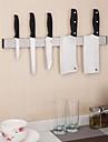 rostfritt stål magnetisk knivhållare lagring remsa köksredskap redskap rack på