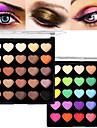 25pcs Sans Ammoniac / Sans Formaldehyde Melange / Sec / Normal Fards a Paupieres Poudre Maquillage Quotidien / Maquillage d\'Halloween /