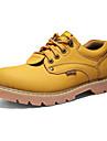 Bărbați Pantofi Piele Toamnă Iarnă Confortabili Oxfords Pentru Casual Negru Galben Maro Maro Închis
