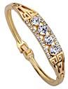 Pentru femei Brățări Bantă Diamant sintetic Γεωμετρικά Ștras Aliaj Circle Shape Bijuterii Zilnic Scenă