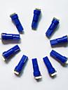 Lampa de instrumente 10buc t5 0.5W 5050 1smd condus de culoare albastru