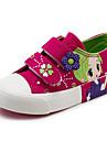Flickor Skor Kanvas Vår Höst Komfort Sneakers Till Casual Vit Mörkblå Pärsiko Rosa