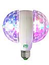 YWXLIGHT® 1 st 6W 400 lm E27 LED-globlampor 6 lysdioder Högeffekts-LED Dekorativ RGB AC85-265