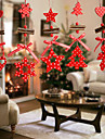 12pcs Crăciun Ornamente de crăciun, Decoratiuni de vacanta 3.0*11.0*27.0
