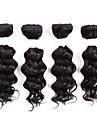 Brasilianskt hår Klassisk Hårförlängning av äkta hår 8pcs / förpackning Hög kvalitet Dagligen
