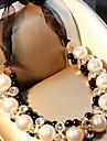 Pentru femei Coliere Choker Imitație de Perle Geometric Shape Imitație de Perle Aliaj Adorabil Clasic Bijuterii Pentru Nuntă Scenă