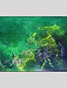 Peint a la main Abstrait Abstrait Un Panneau Toile Peinture a l\'huile Hang-peint For Decoration d\'interieur