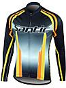 Maillot Cyclisme Velo / veste de velo chaud a manches longues Homme Polaire100% polyester l\'hiver Santic hommes