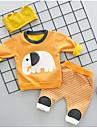 Băieți Seturi Imprimeu Animale Bumbac Spandex Toamnă Iarnă Set Îmbrăcăminte