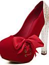 Femme Chaussures Paillette Brillante / Similicuir Printemps / Automne Nouveaute Chaussures a Talons Bout ouvert Paillette Brillante /