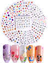50 pcs 3D Nail Stickers Full Nail Stickers Decals nail art Manicure Pedicure Fashion Daily