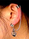 Pentru femei Franjuri Cercei cu Clip / Cătușe pentru urechi - Ancoră Vintage, Modă, Declarație Argintiu Pentru Club / Măr