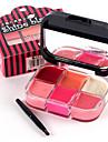 Levre Gloss Rouges a Levres Haute qualite Sans Formaldehyde Sans Ammoniac Maquillage Smoky-Eye Maquillage OEil de Chat Maquillage de Fee