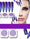 # akrylpulverpulver nagelglitter glitterpulver spegel effekt gnist och skina nagelkonstruktion