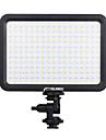 yelangu avec temperature de couleur de la lampe reglable pour tous les camescopes led lumiere de panneau de lumiere video