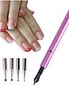 1 Klassisk Nail Art Tool Accessory Klassisk Hög kvalitet Dagligen