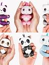 Fidget-leksaker Fingerdockor Elekronisk Leksaker Fingerling Panda Djur Interaktiv Baby Söt Touch Sensor Smart touch Mjuk plast pvc ABS